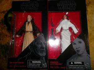 Leia Y Obi Wan Black Series Star Wars