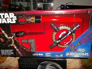 Lightsaber Sable De Luz Sonido Star Wars Bladebuilders Gira
