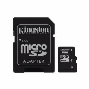 Memoria Micro Sd 8gb Kingston Cl4 Sdc4/8gb Original Factura