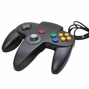 N64 Control De Usb Negro Para Pc Mac Cirka