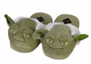 Pantuflas De Yoda Star Wars De Felpa - Tallas