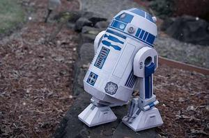 R2-d2 De Starwars (para Armar En Papel)