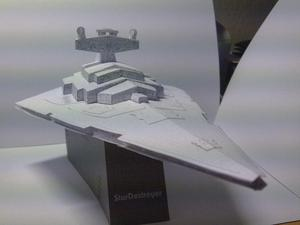 Star Destroyer Starwars (para Armar En Papel)