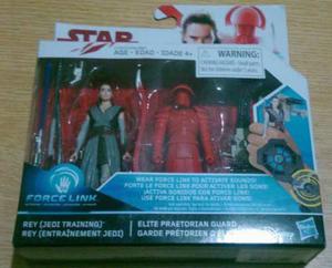 Star Wars 2 Pack Rey Y Elite Praetorian Guardia 9cms Force