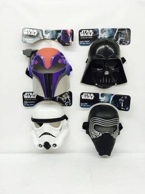 Star Wars 4mascaras De Niño Disney Hasbro