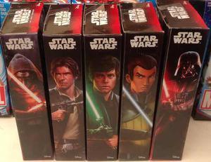 Star Wars Disney Hasbro 5 Figuras De 15cm Nuevas Caja Sellad