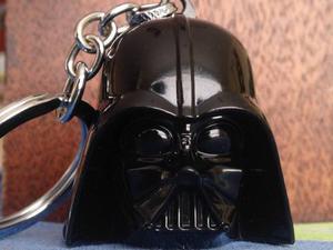Star Wars Llavero De Metal Darth Vader Rosquillo Toys
