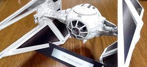 Tie Interceptor Starwars Detallado (para Armar En Papel)
