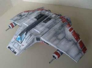 V-wing De Starwars (para Armar En Papel)