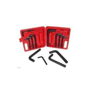 12 Piezas Jumbo Hex Llave Llave Allen Driver Tool Set. Mango