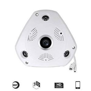 Camara Ip Vr Cam 360 Hd 1.3mp Ojo De Pez Infrarrojo Ios
