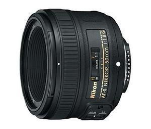 Lente Nikon Af-s Fx Nikkor 50mm F/1.8g C/enfoque Automático