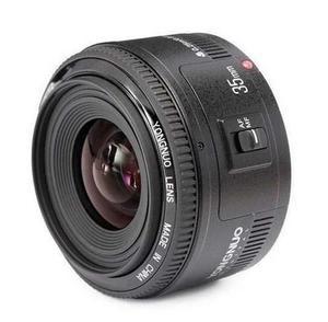 Lente Yongnuo Yn35mm F-2 Para Canon 35 Mm Nuevo