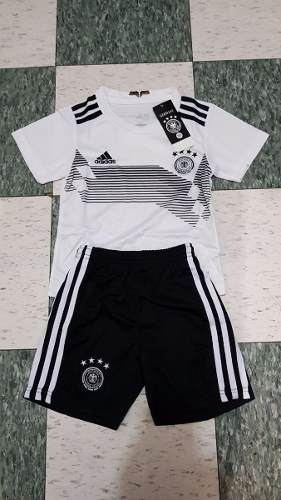 Nuevo Uniforme Jersey Playera Alemania Mundial  Niño