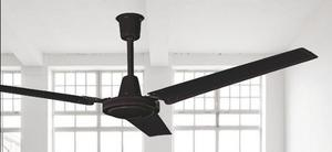 Abanico Ventilador Techo Estevez Greco Chocolate Industrial