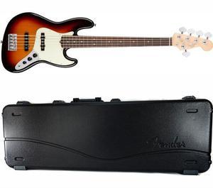 Bajo Fender American Pro Jazz Bass V 5 Cuerdas Sunburst+case