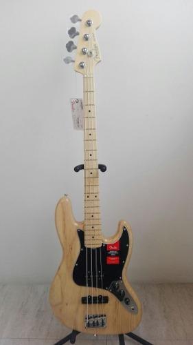 Bajo Fender American Professional Jazz Bass Natural C/estuch