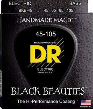 Cuerdas Bass Bajo 4 Dr Black Beauties Bkb-45 Envío Gratis