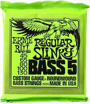 Ernie Ball 5 Cuerdas Para Bajo Regular Slinky  Eb