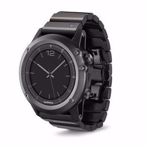 Garmin Reloj Gps Fenix 3 Zaphire Multideporte Triatlon