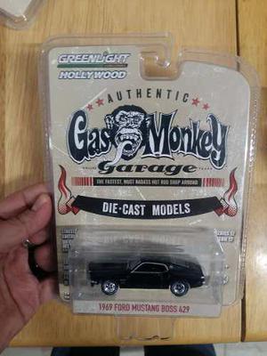 Hot Wheels - Gas Monkey - 69 Mustang Boss