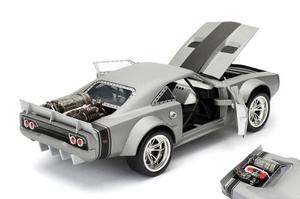 Ice Dodge Charger Dom Jada 1:24 Rapido Y Furiouso 8 De Metal