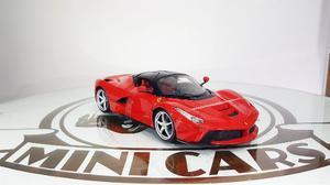 La Ferrari 1/18 Burago Bburago Autos A Escala Metal
