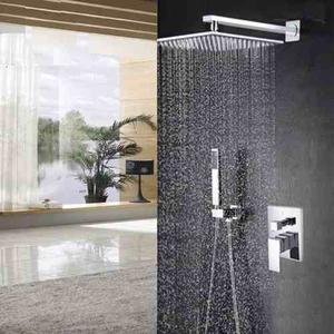 Regadera lluvia de 30cm x 30cm mezcladora ducha posot class for Ducha lluvia