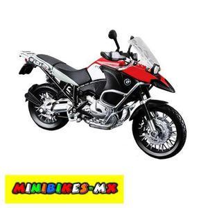 Moto De Colección Nueva Bmw R  Gs Escala 1:12 Maisto