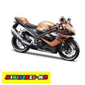Moto De Colección Nueva Suzuki Gsxr- Escala 1:12 Maisto