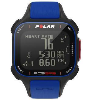 Reloj Con Sensor Gps Frecuencia Cardiaca Polar Rc3 Gps Azul