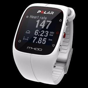 Reloj Gps Polar M400 Blanco Smartwatch Sensor Bluetooth