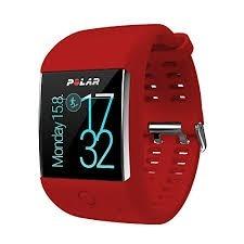 Reloj Polar M600 Rojo Y Extensible Negro