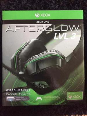 Afterglow Lvl 3 Headset Para Xbox One (3.5 Mm) Negro