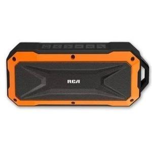 Bocina Inalambrica Portatil Marca Rca Bluetooth Aux Naranja