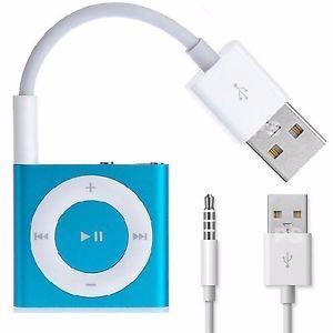 Cable Usb De Carga Y Datos Ipod Shuffle Musica Mp3s 2g 3g 4g