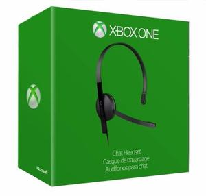 Diadema Xbox One Microsoft Original Chat Headset Nuevo