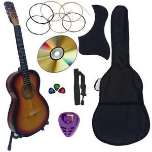 Guitarra Acustica Nuevo Paquete De Accesorios Mas Completo