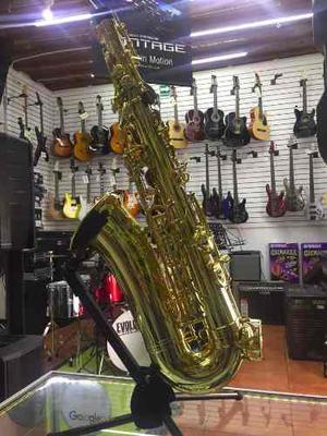 Mercury Saxofon Alto Con Estuche Y Boquilla Envio Gratis