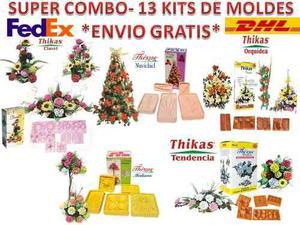 Moldes Para Hacer Flores De Foamy Super Paquete 13 Kits Fomi