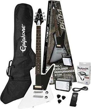 Paquete De Guitarra Epiphone Explorer Pro-1 Incluye Envio