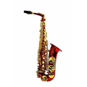 Sal Red Saxofon Alto Symphonic Color Rojo High F#, Eb Ke