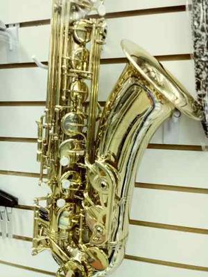 Saxofon Tenor Sib Blessing Laqueado C/estuche l