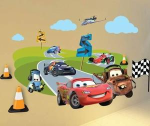 Vinilos Decorativos Infantiles A Todo Color Cars Disney
