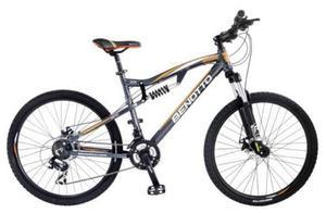Bicicleta Benotto Ds-700 Aluminio Rv Plata Grande