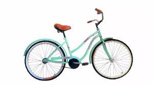 Bicicleta Infantil Vintage Cruiser Rodada 20 Para Niña