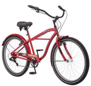 Bicicleta Schwinn Miramar Cruiser Caballero Rod 26 7v