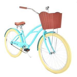 Bicicleta Vintage Retro Mujer Turbo Malibu R-26 Azul