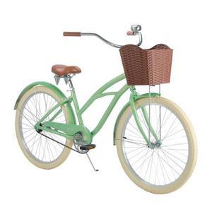 Bicicleta Vintage Retro Mujer Turbo Malibu R-26 Menta