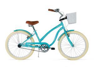 Bicicleta Vintage Retro Mujer Turbo Ocean R-24 Azul